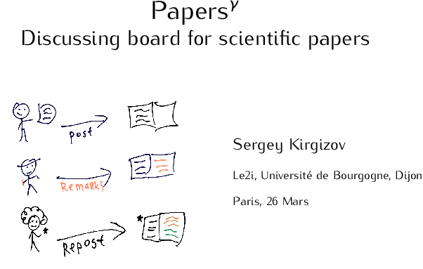 Papersᵞ — Discussing board for scientific papers